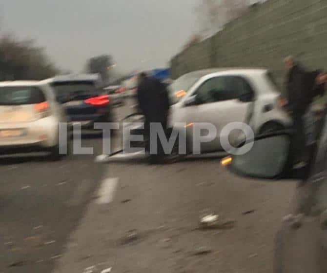 Incidente stradale per Giancarlo Magalli, il conduttore si s