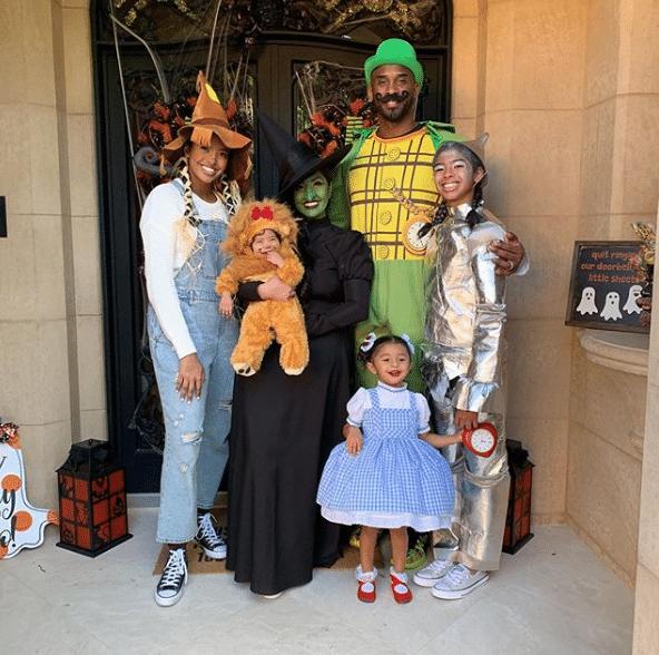 kobe bryant famiglia