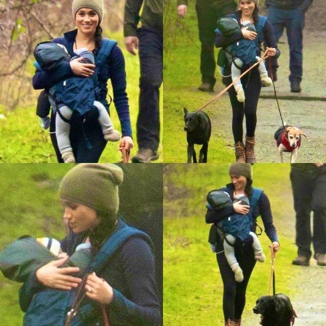 Meghan in Canada, la Duchessa è stata avvistata in un parco