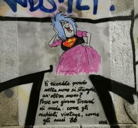 Le superdonne della street art di Lediesis per la Fashion Week di Milano