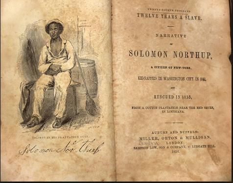 Solomon Northup chi era 12 anni schiavo