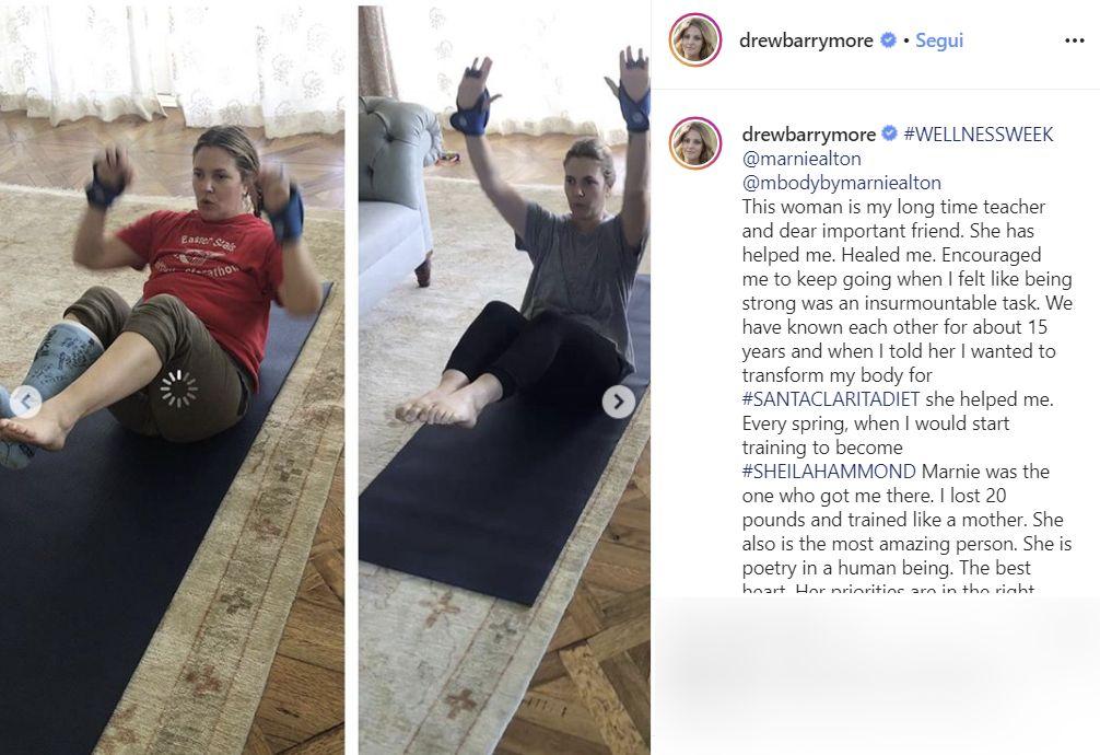 """Drew Barrymore e le difficoltà dopo il parto: """"Mamme, non ve"""