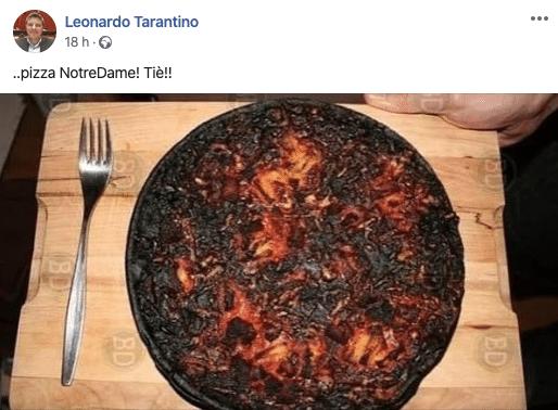 deputato leghista pizza coronavirus