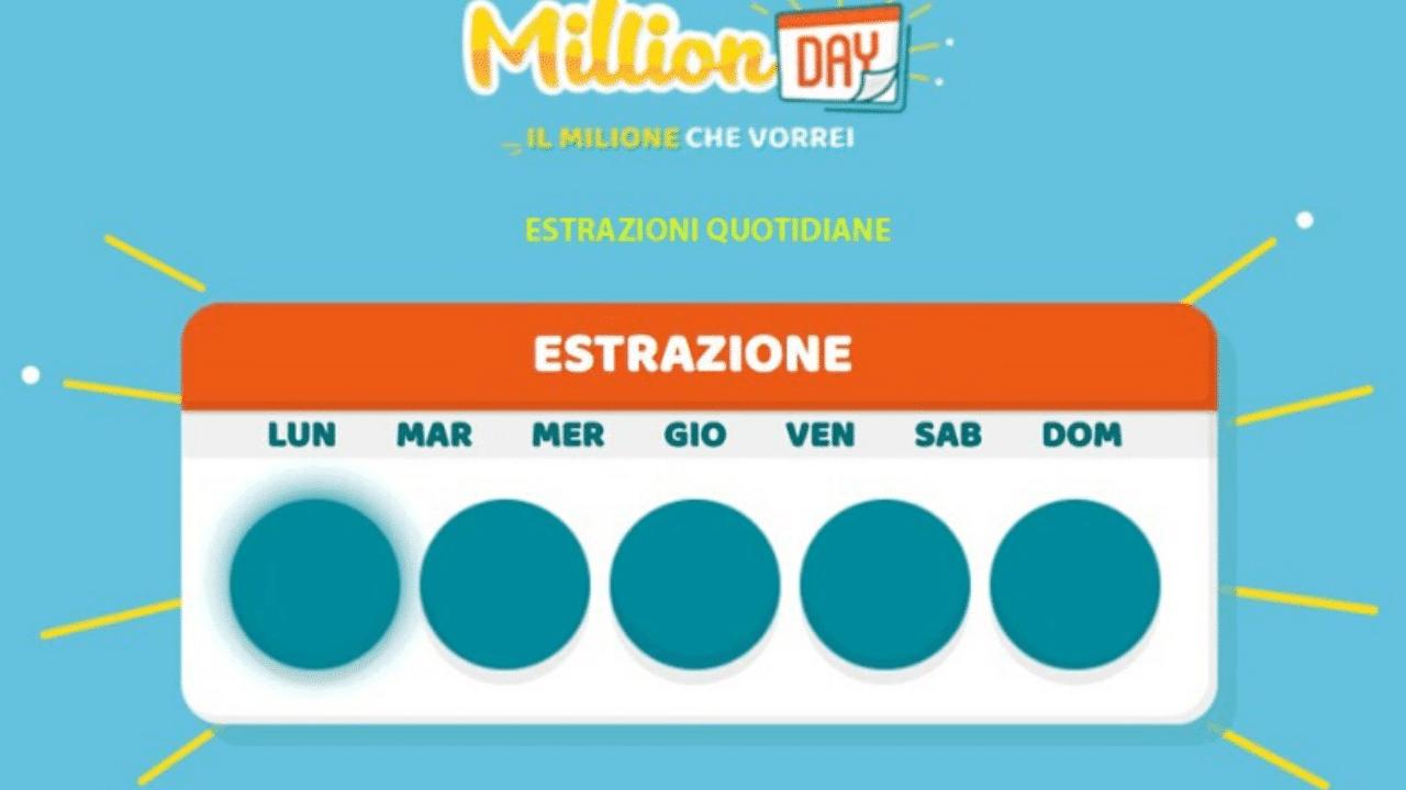 Million Day, estrazione 1° aprile: i numeri vincenti