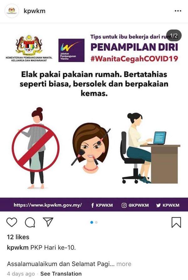coronavirus malesia donne