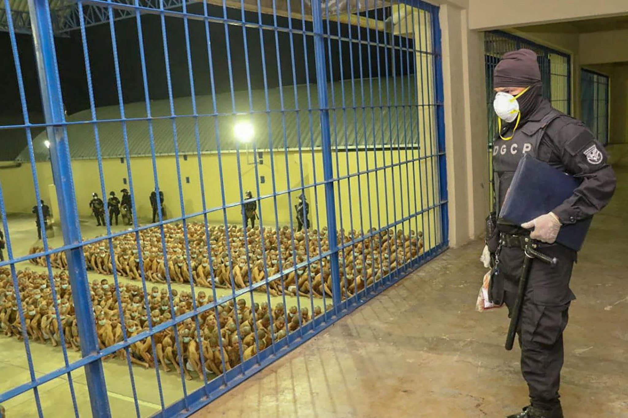 el salvador detenuti prigioni