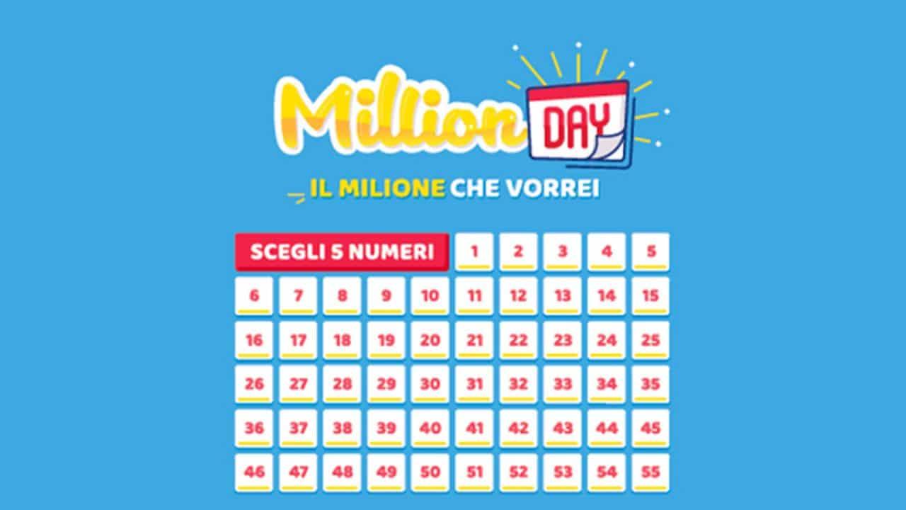 Estrazione Million Day di oggi, 2 aprile 2020: i numeri vinc