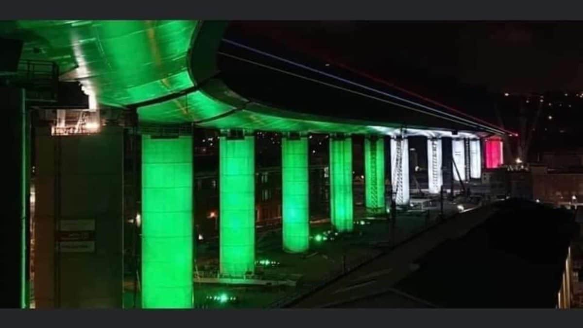 L'inaugurazione e le foto del nuovo Ponte di Genova | Diretta tv ...