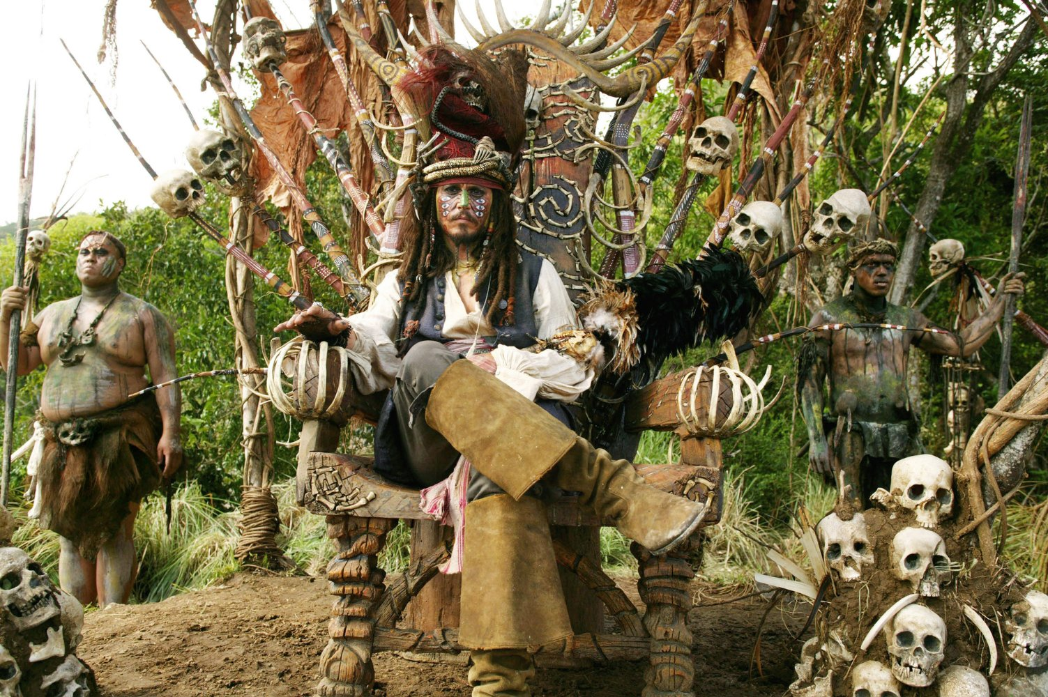 Pirati dei Caraibi – La maledizione del forziere fantasma, i
