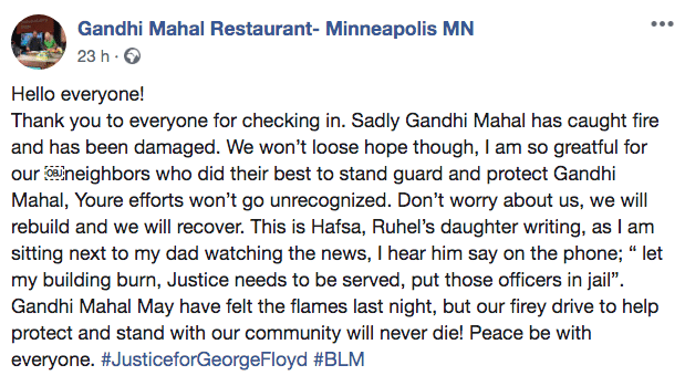Minneapolis, ristoratore applaude i manifestanti che hanno b