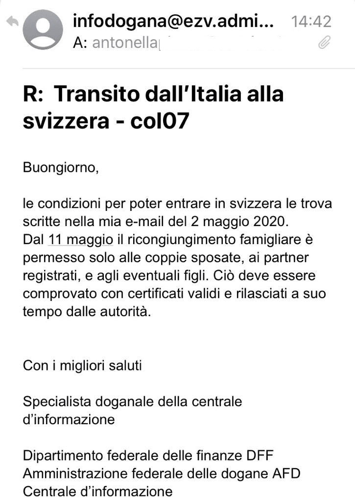 confine svizzera italia