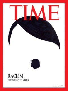 La copertina del Time su Trump, Hitler e razzismo è finta
