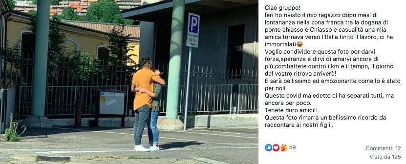 coppie italia svizzera confine