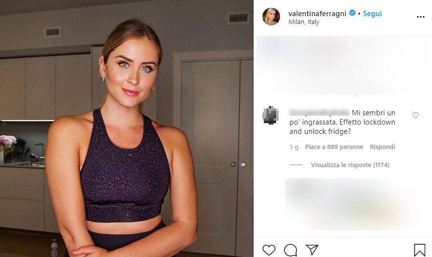 Valentina Ferragni e il particolare in bikini che infiamma i follower!