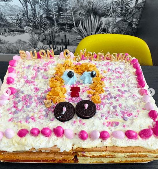 torta fedez chiara