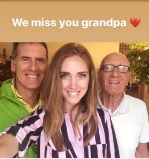 Chiara Ferragni nonno