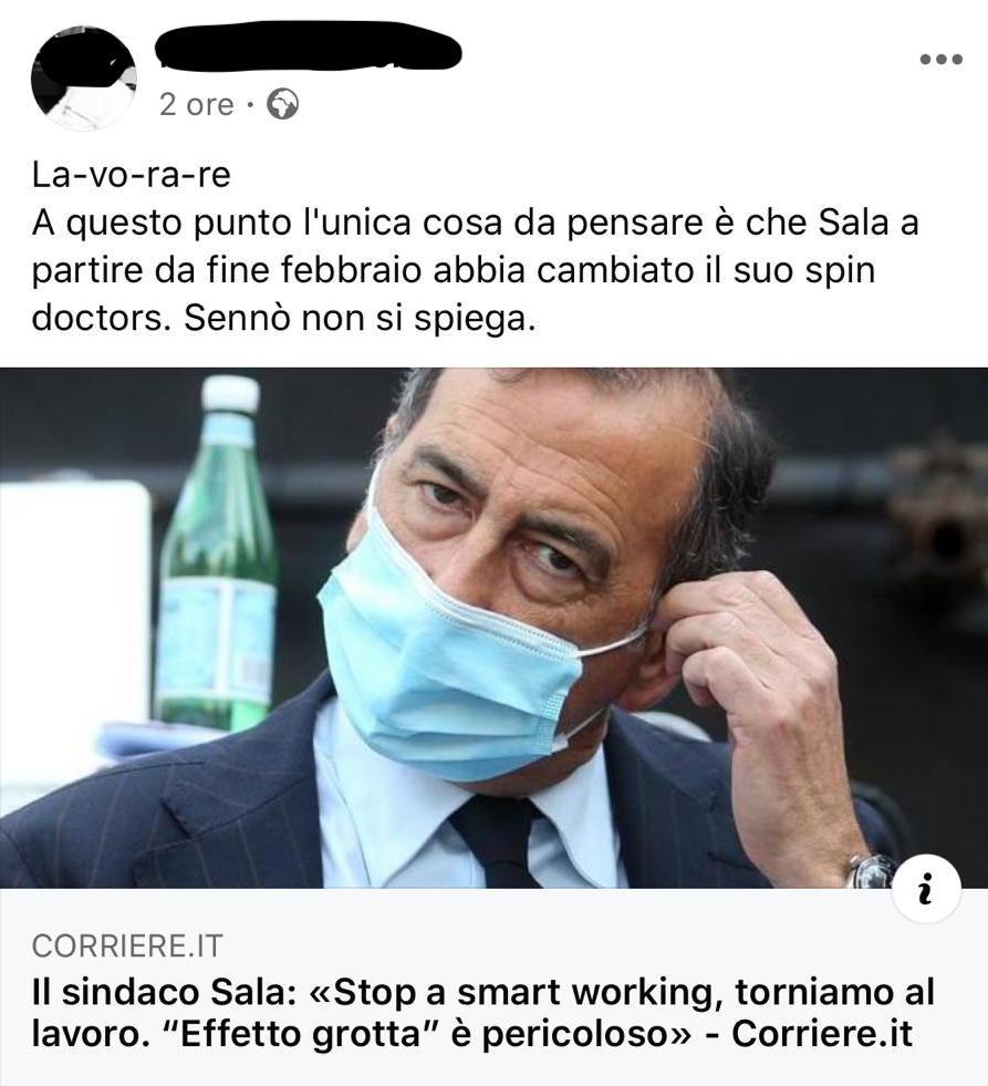 insulti sala smart working