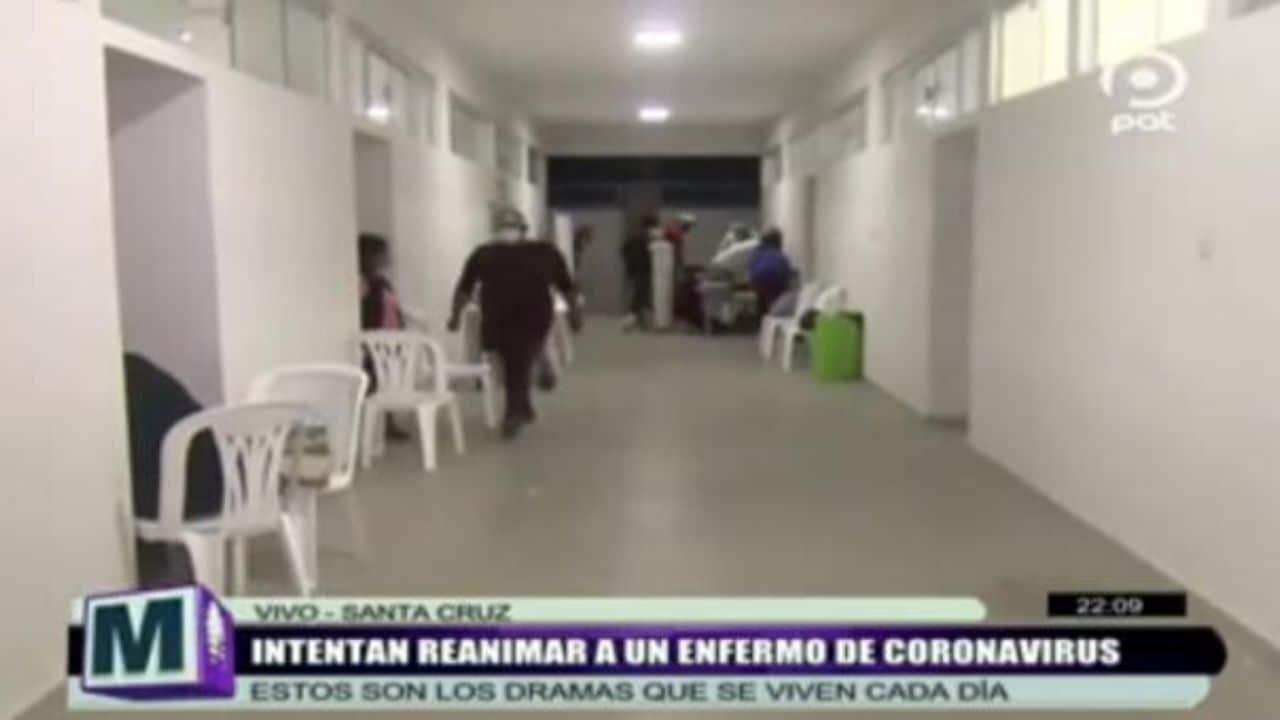 paziente coronavirus tv