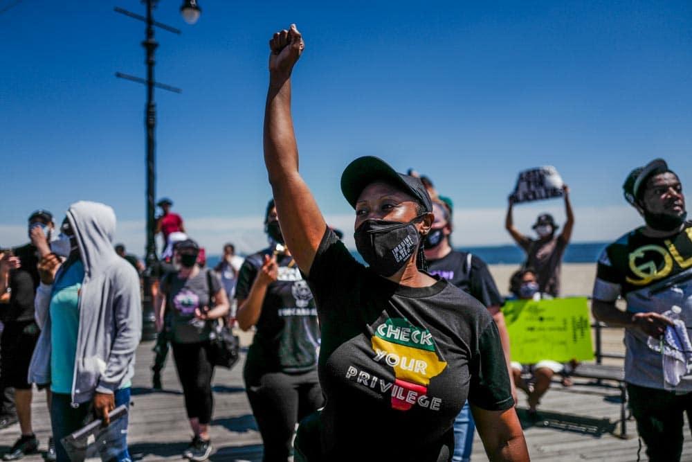 manifestazioni Black Lives Matter