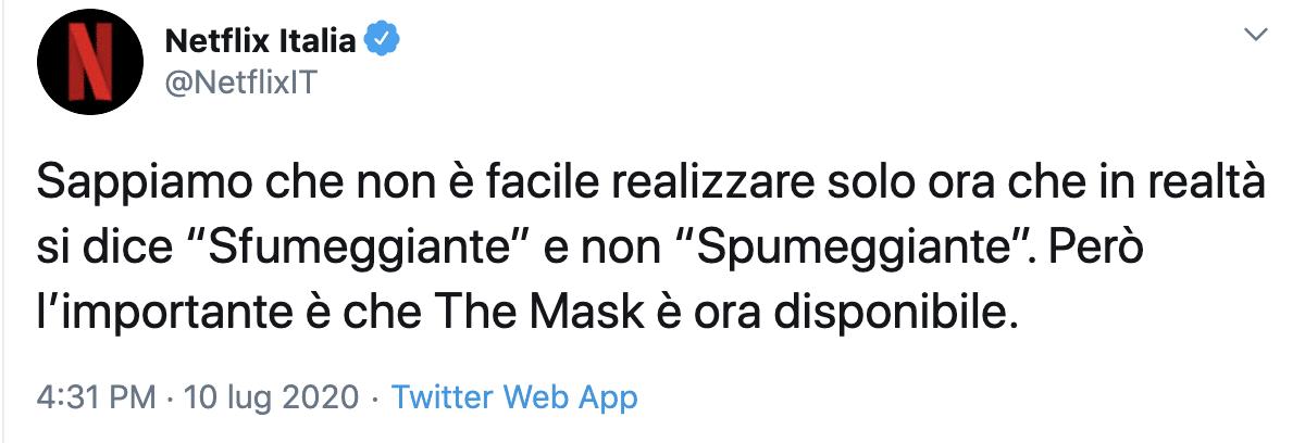 jim carrey the mask spumeggiante