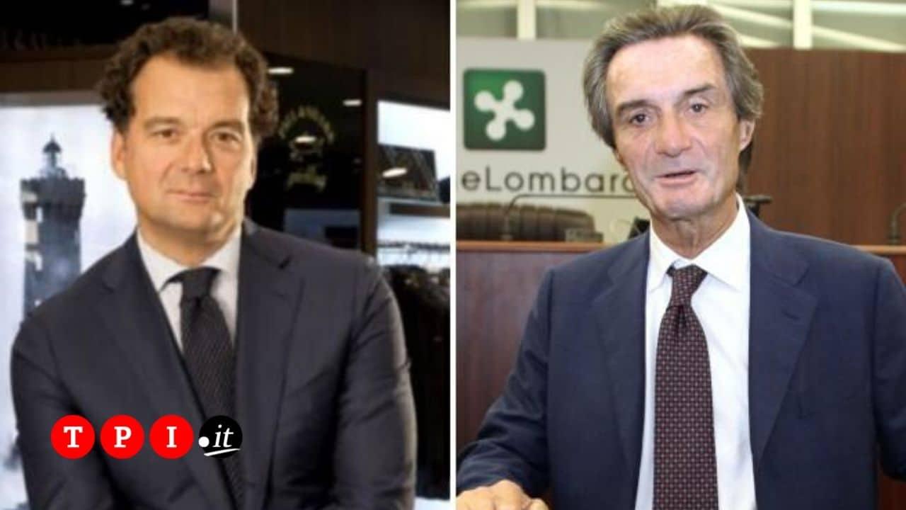 Caso camici in Lombardia, indagati il cognato di Fontana Andrea Dini e il dg della società Aria