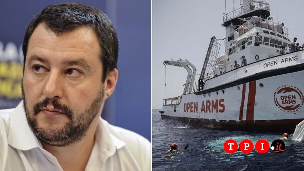 Processo a Salvini per il caso Open Arms - cover