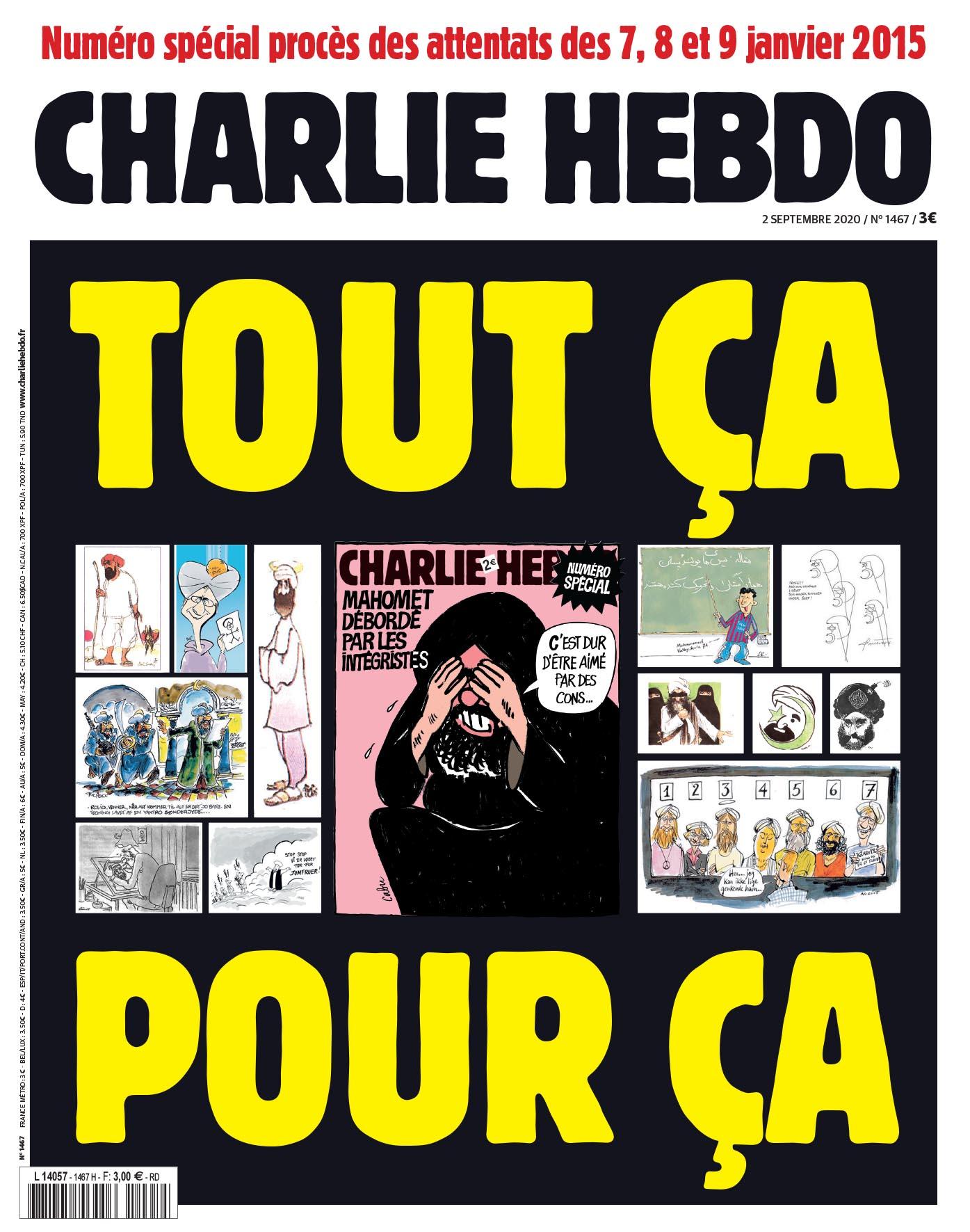 charlie hebdo vignette maometto