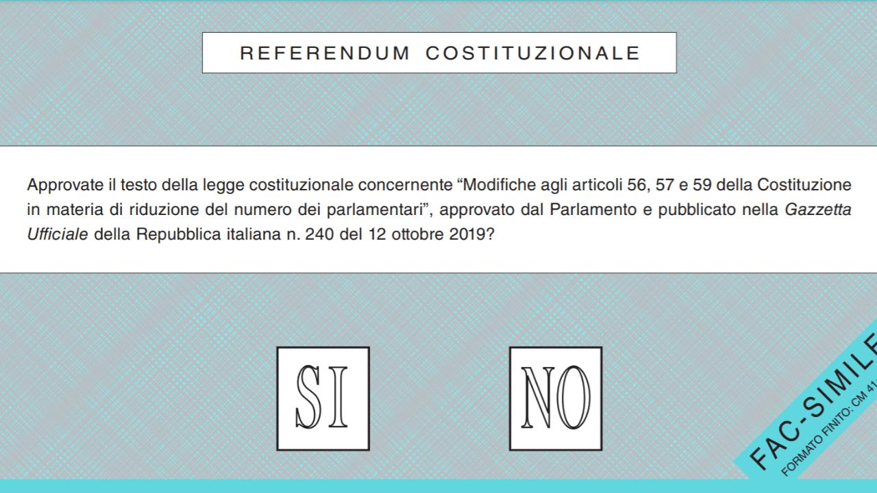 referendum quesito