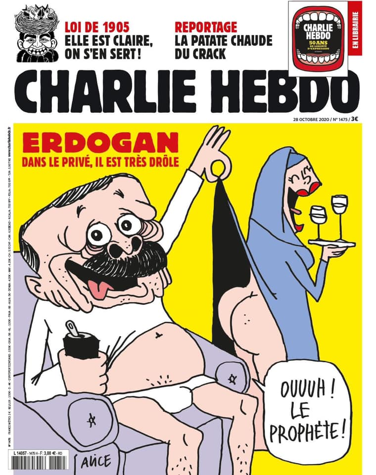 Erdogan querela Charlie Hebdo