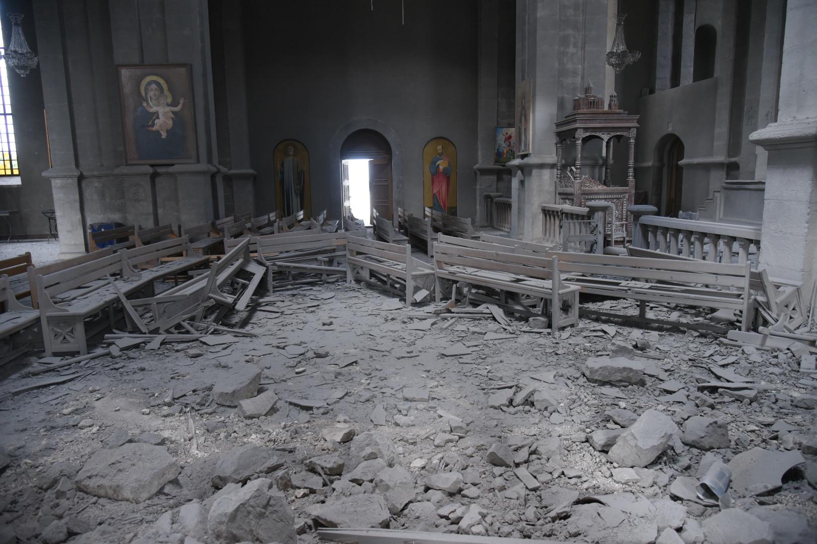 Ghazanchetsots altare