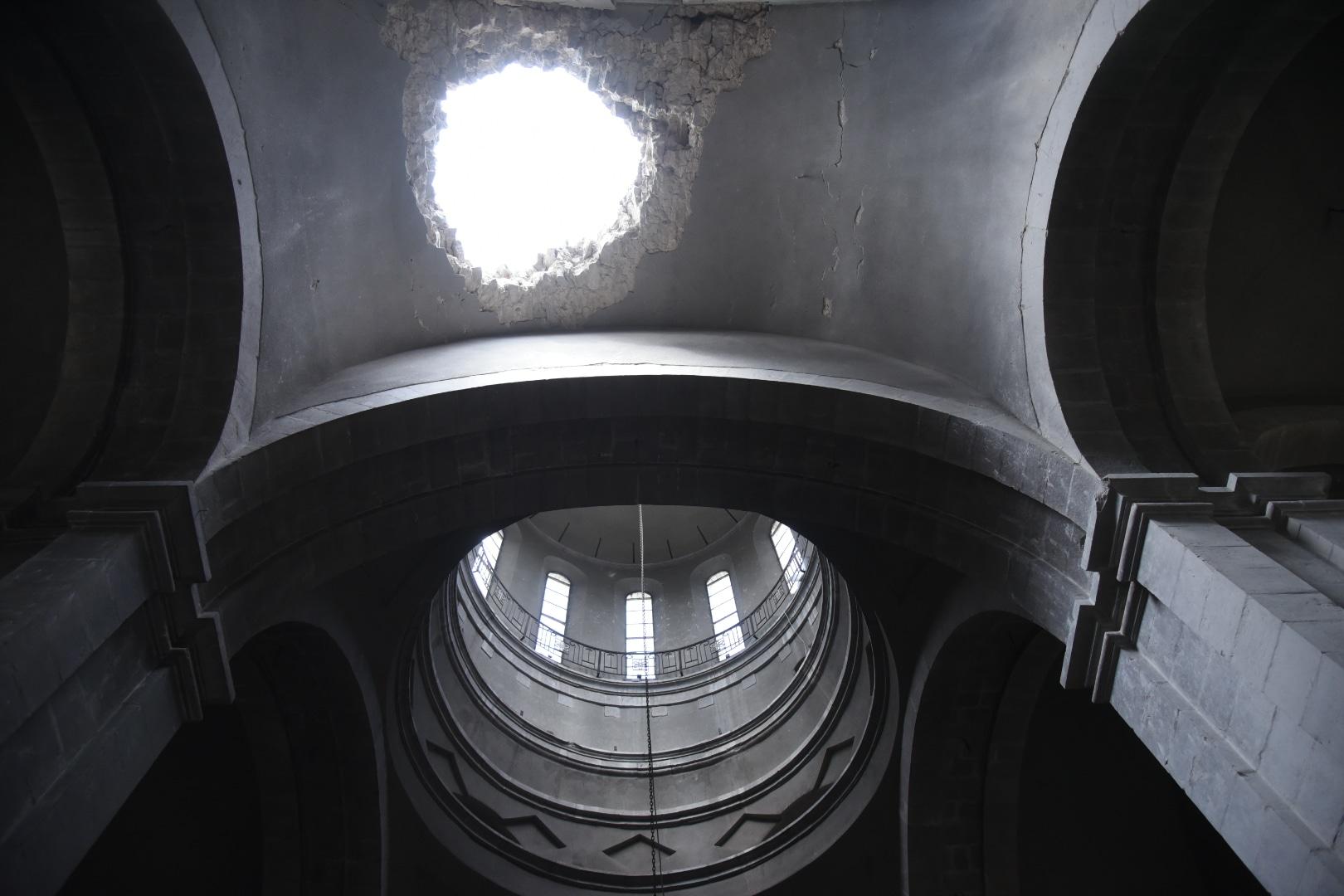 Ghazanchetsots cupola
