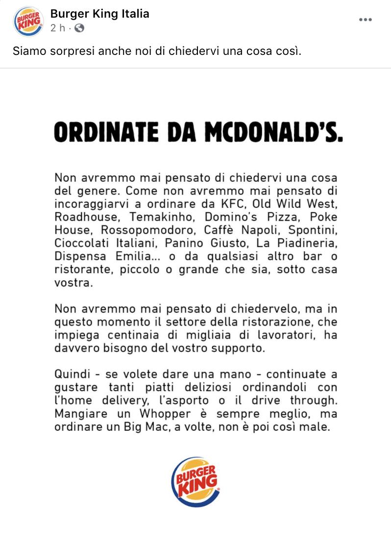 burger king mcdonald