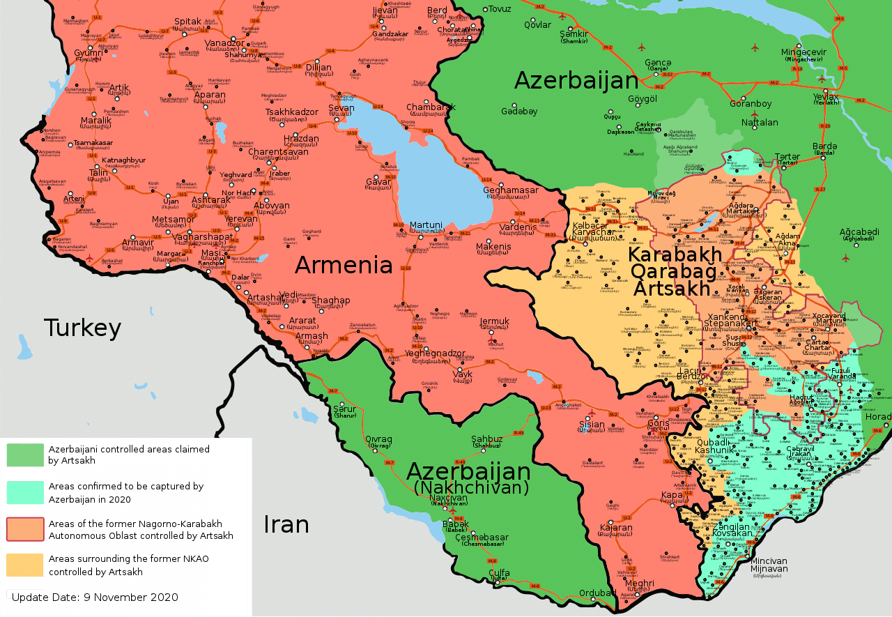 Nagorno Karabakh tregua