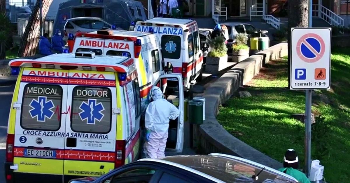ambulanze napoli