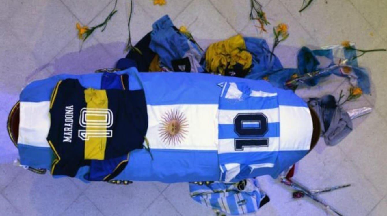 maradona funerali