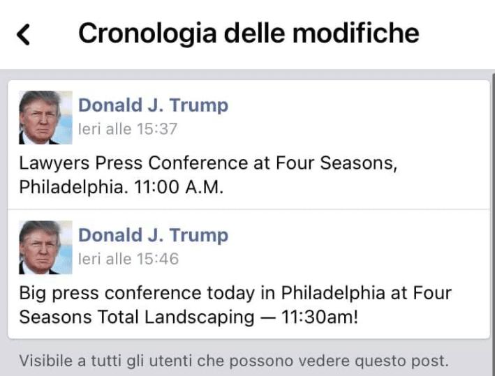 trump fourseason