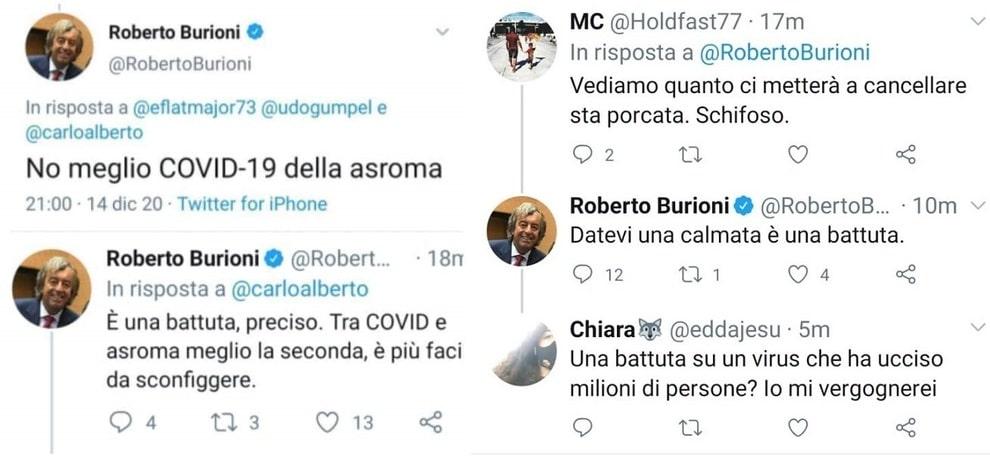 Burioni covid roma