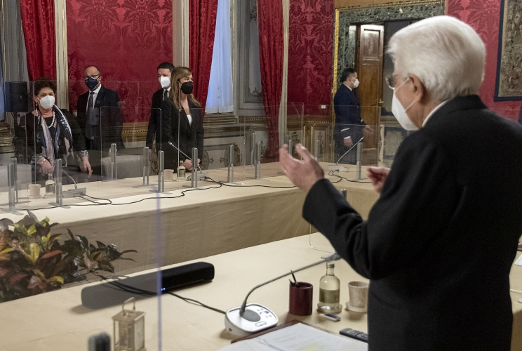 consultazioni italia viva diretta