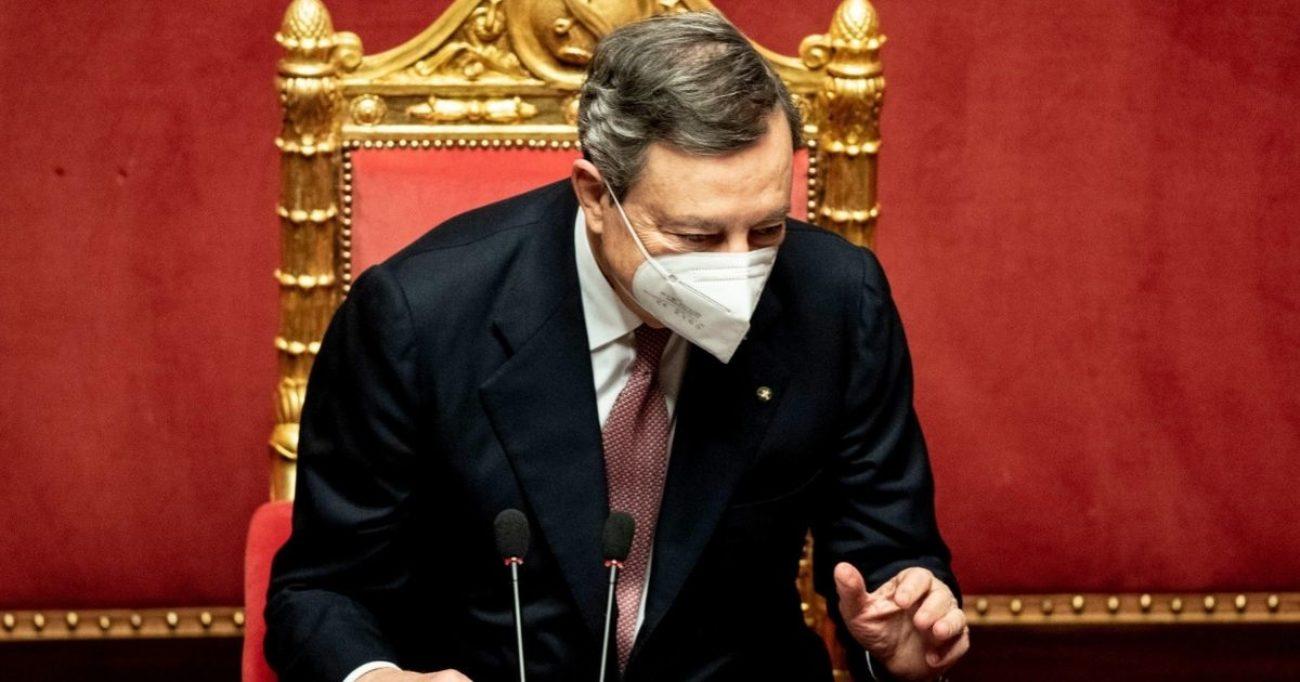 Draghi Alla Camera Per La Fiducia Discorso In Diretta Live Fiducia Governo