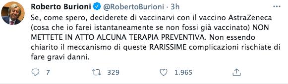 burioni vaccino astrazeneca
