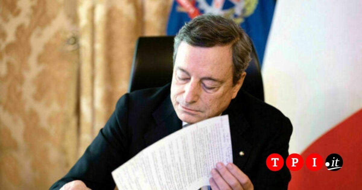 Conferenza Stampa Draghi Oggi Streaming E Diretta Tv Dove Vederla