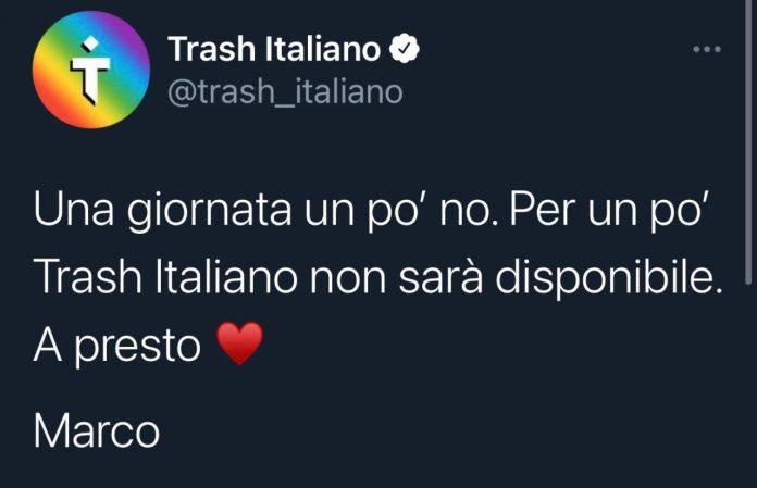 Che fine ha fatto Trash Italiano