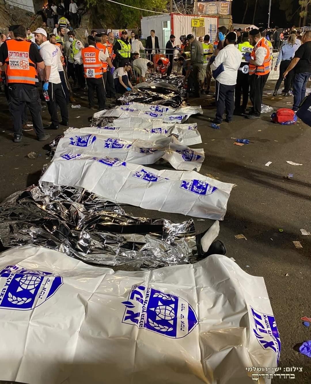 israele pellegrinaggio morti