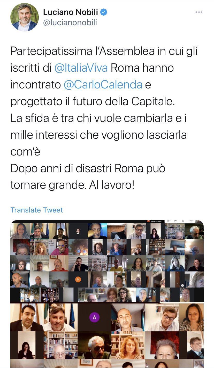 nobili assemblea italia viva