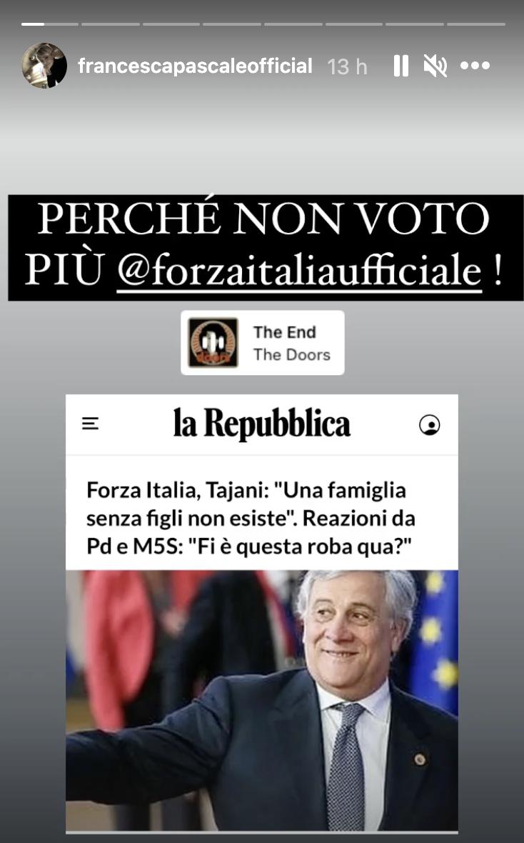 pascale forza italia