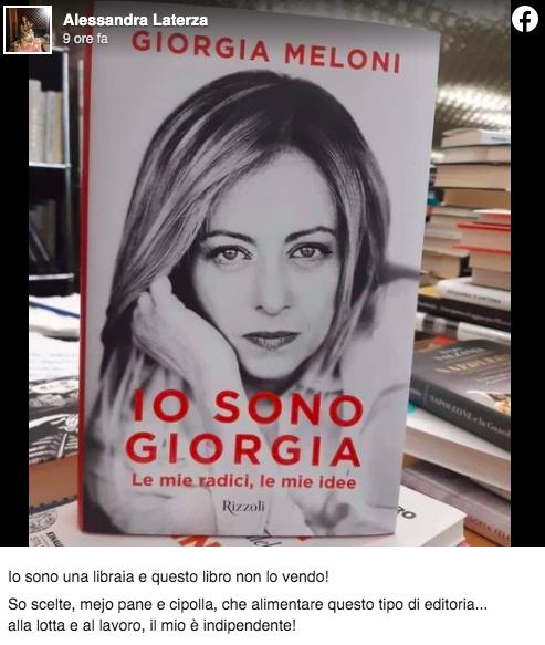 giorgia meloni libro