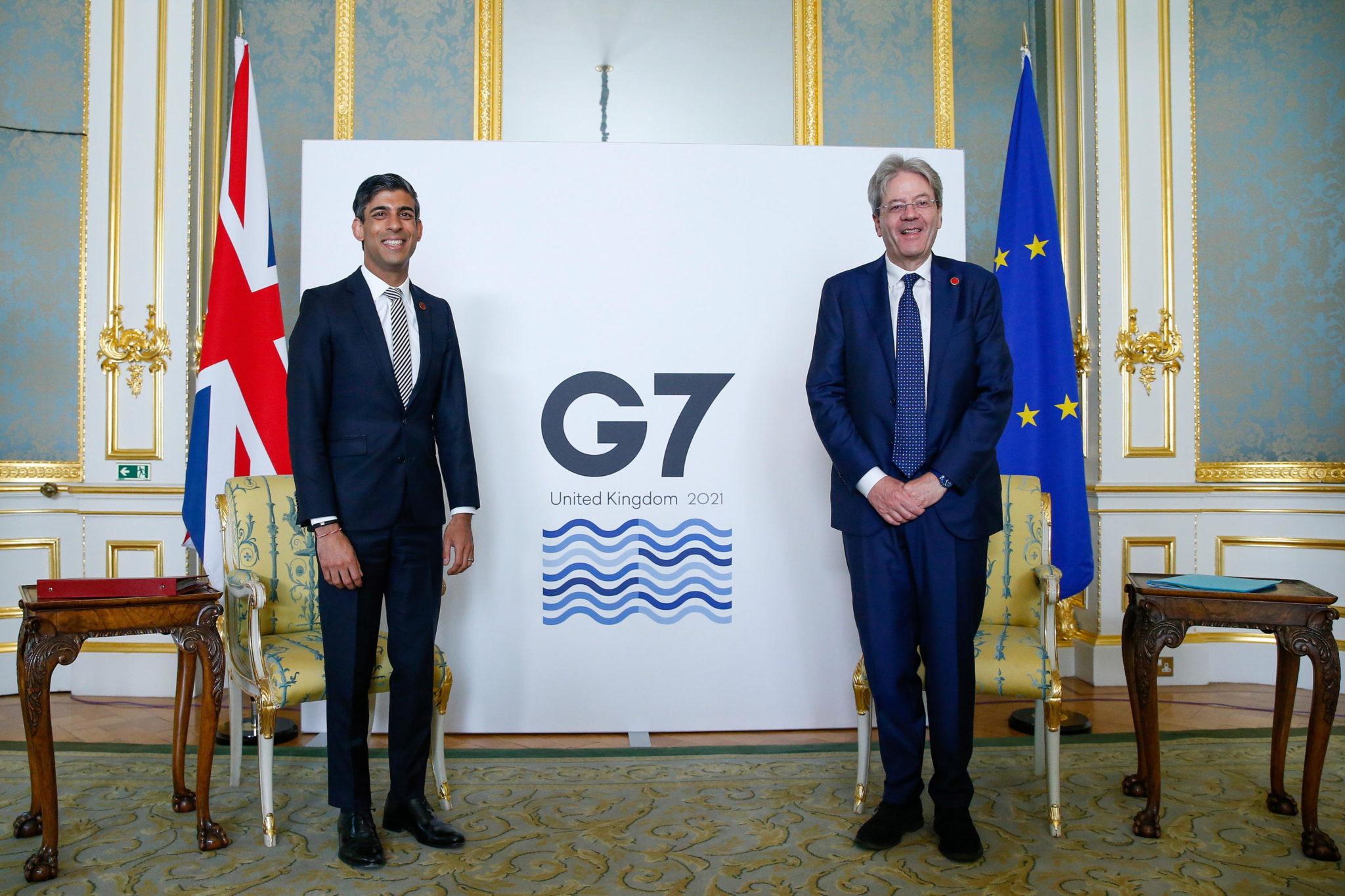 G7, tassa minima globale per le Big Tech al 15%