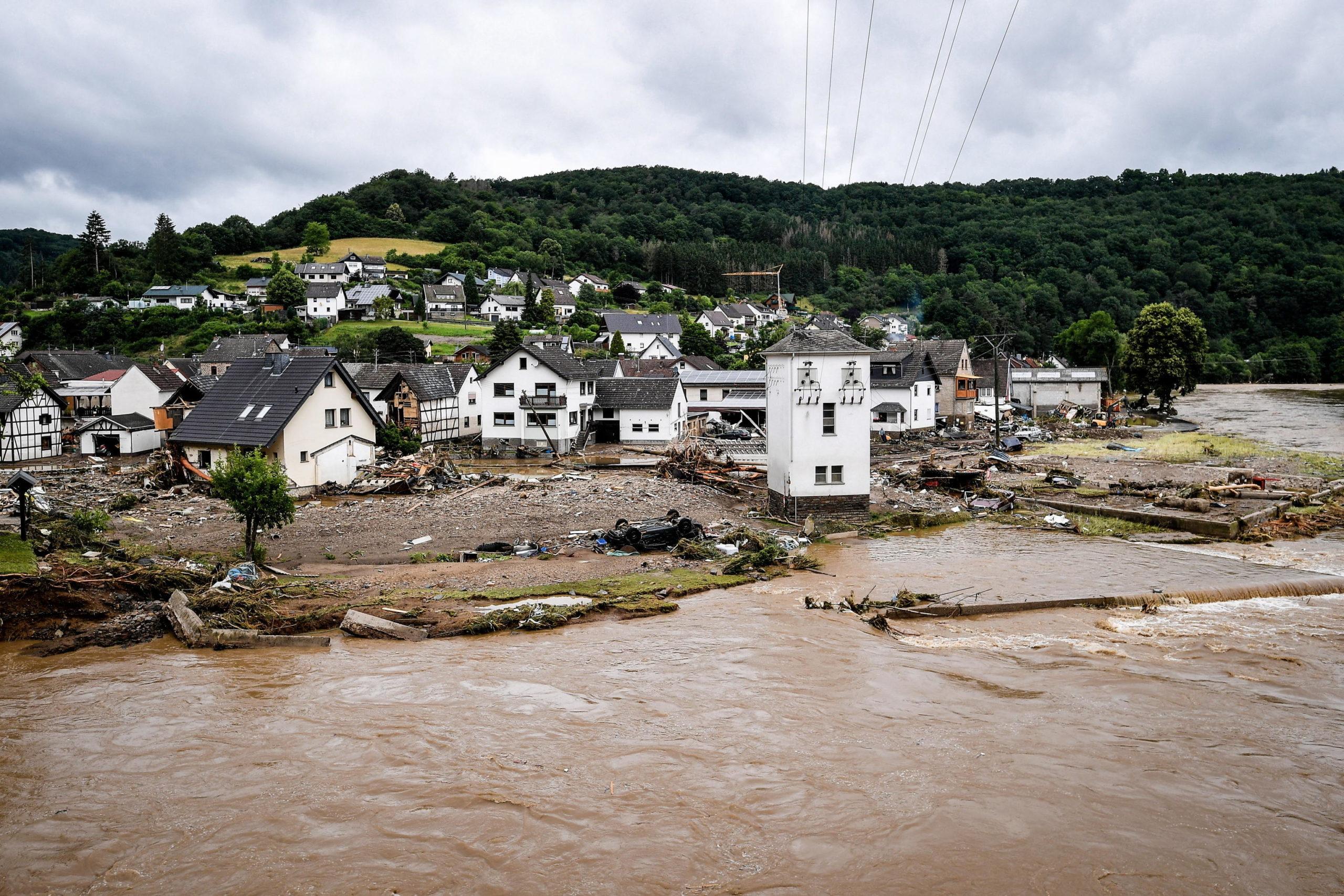germania maltempo alluvione