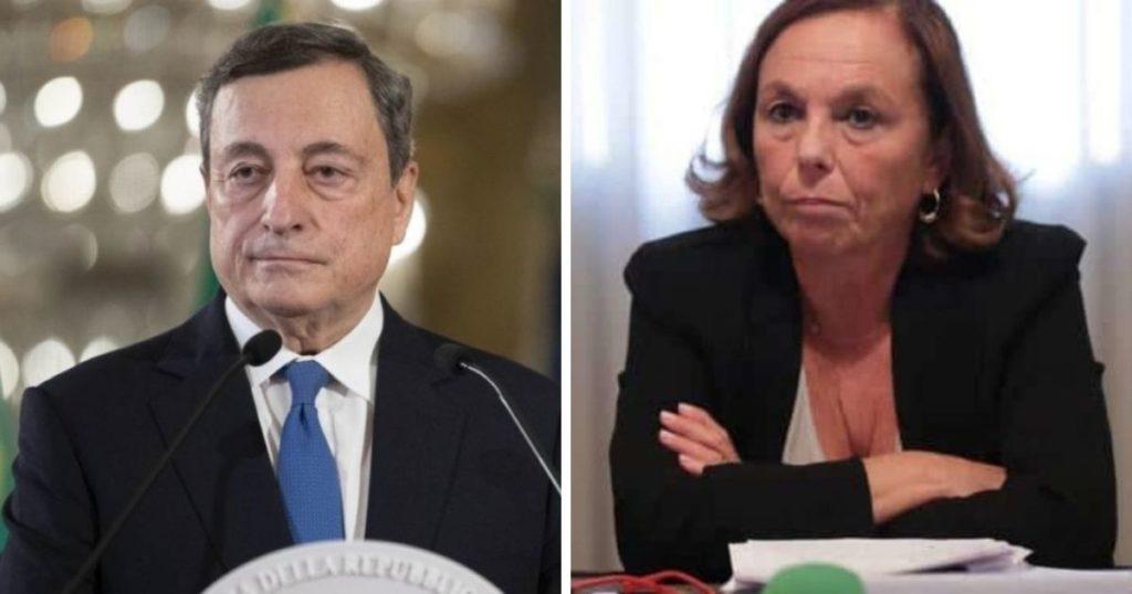 Draghi irritato con Lamorgese per la circolare sui tamponi gratis ai portuali di Trieste