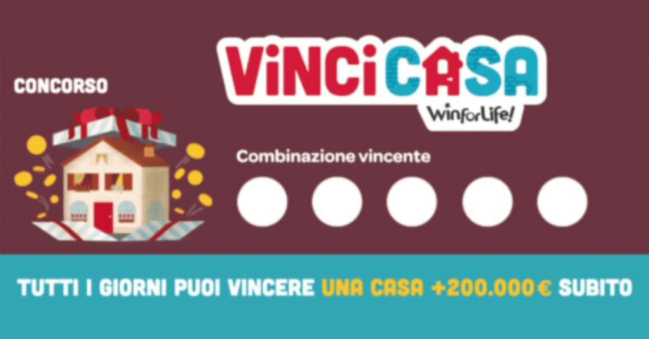 Estrazione VinciCasa: i numeri vincenti estratti oggi 20 ottobre 2021